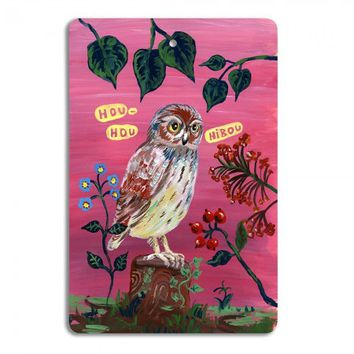 Vintage Owl Cutting Board