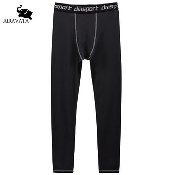 Men Black and White Pants For Men Quick Dry Bottoms Pants Breathable Colorfast High Elastic Spandex Men's Fitness