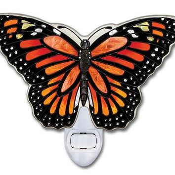 Monarch Butterfly Night Light