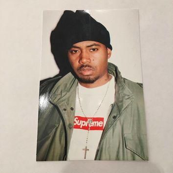 Supreme Nas Sticker