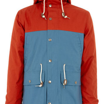 Red Blue Colour Block Trek - View All  - New In