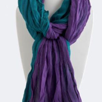 Teal Treasure Scarf