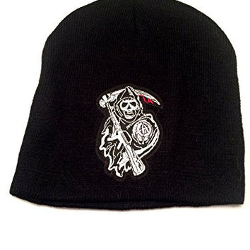 Sons Of Anarchy Samcro Patch Knit Beanie Hat