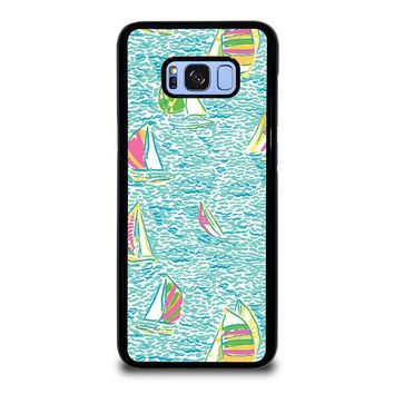 LILLY PULITZER SAILBOAT Samsung Galaxy S8 Plus Case Cover