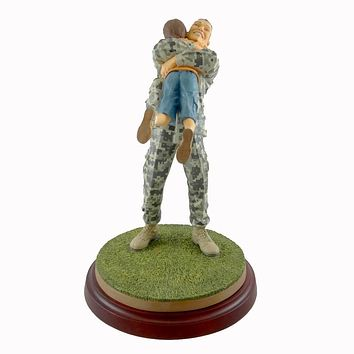 Thomas Blackshear Coming Home In Ivory Figurine