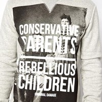 Criminal Damage Rebellious Sweater