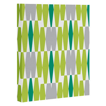 Heather Dutton Abacus Emerald Art Canvas
