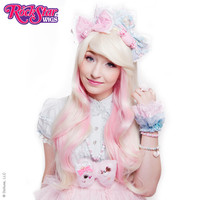 RockStar Wigs® Downtown Girl™ Collection - Platinum Blonde Mix & Pink