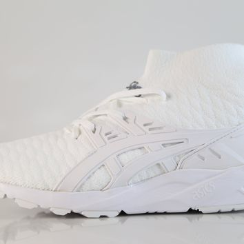 BC QIYIF Asics Gel Kayano Trainer Knit MT White H7P4N 0101