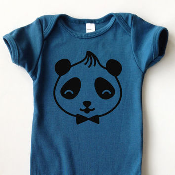 3-24 Mos. Cheerful Creatures Collection | Organic Cotton Kids One-Piece | Color: GALAXY | Choose Your Animal