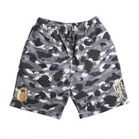 Camouflage Men Casual Pants Shorts [211446824972]