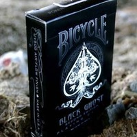 Bicycle Black Ghost Second Edition Playing Cards Deck by Ellusionist