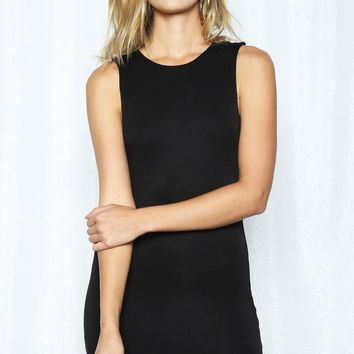 Mini Tank Black Dress