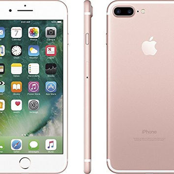 Apple iPhone 7 Plus 32GB Factory Unlocked CDMA/GSM Smartphone - Rose Gold (Certified Refurbished)