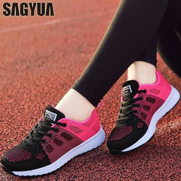 Air Mesh Breathable Running Shoe