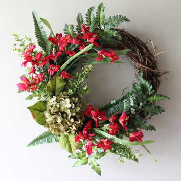 Fall Wreath, Christmas Wreath, Summer Wreath, Front Door Wreath, Everyday Wreath, Spring