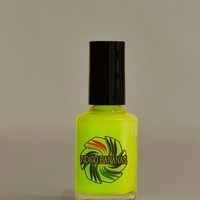 Indigo Bananas Glow in the Dark Top Coat - Green
