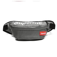 Men's and Women's Supreme Chest Pockets Oxford Casual Riding Bag  056