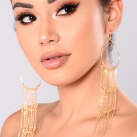Lavishly Loved Earrings - Gold