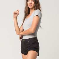 FULL TILT Ribbed Tee Womens Bodysuit | Bodysuits