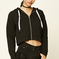 Fleece-Lined Zip-Up Hoodie