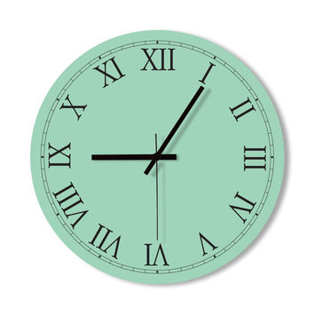 Wall Clock Funny Tie Clock home from Snowbald Snowbald Wall