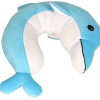 Lil' Lewis  Explorers Dolphin Neck Pillow,Dolphin,One Size