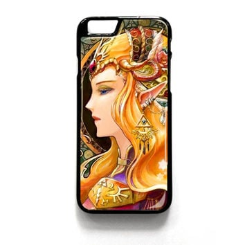 Princess Zelda Triforce iPhone 4 4S 5 5S 5C 6 6 Plus , iPod 4 5  , Samsung Galaxy S3 S4 S5 Note 3 Note 4 , and HTC One X M7 M8 Case