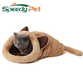 Spring New Products Cat Bed Soft Warm Cat House Pet Mats Puppy Cushion Rabbit Bed Funny Pet Products 4 Color