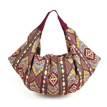 Boho bag, Ethnic Slouchy Hobo Bag, Big Shoulder Bag Purse, Fabric Handbag, Everyday bag, Beach bag, Sac d'épaule, cadeaux pour les femmes