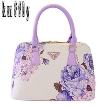 Luxury sac a main 2016 women handbags famous brand pu leather handbags high quality women tote bags print bag for lady's bolsas