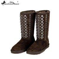 BST-030 Montana West Studs Collection Boots