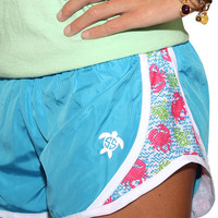 Simply Southern Jogger Shorts - Crabby