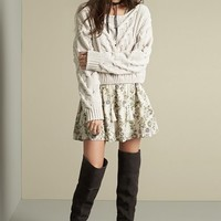 Free People Sweater & Dress Outfit with Accessories   Nordstrom