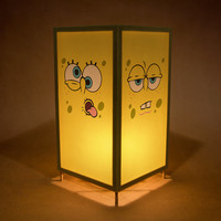 Sponge Bob Square Pants Lamp / Lantern / Nightlight with switch.