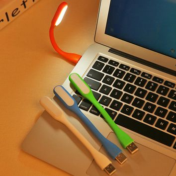 2017 Newest Mini USB Keyboard Flexible  LED Light Lamp With Usb For Powerbank PC Laptop  Reading