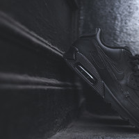NIKE Air Max 90 LTHR - Triple Black