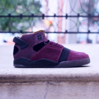 Supra - Skytop III CD - Burgundy / Black - Clear Grey