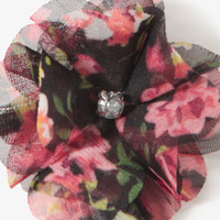 Floral Chiffon Hair Clips | FOREVER 21 - 1021840650