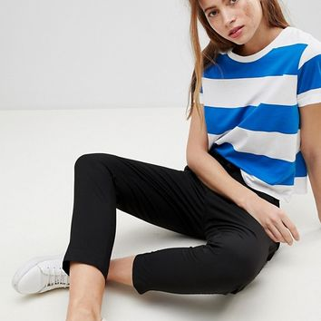 Pimkie Wide Stripe T-Shirt at asos.com
