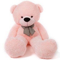6 Foot Life Size Pink Teddy Bear