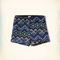 Zipper Tap Shorts