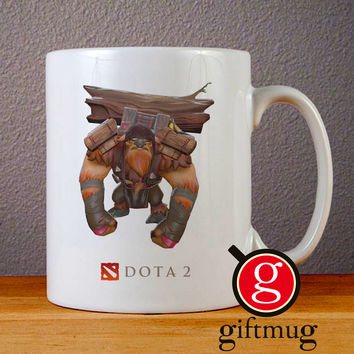 Dota 2 Earthshaker Ceramic Coffee Mugs