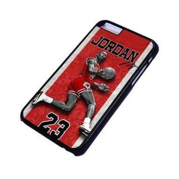 CREYUG7 MICHAEL JORDAN 2 iPhone 4/4S 5/5S 5C 6 6S Plus Case Cover