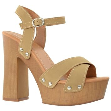 Taupe High Heel