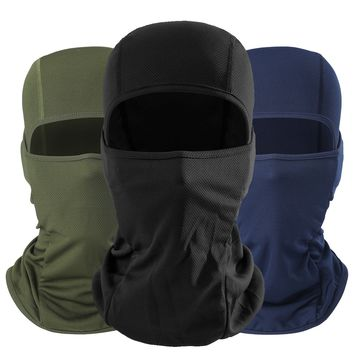 New Breathable Balaclava Full Face Mask Breathable Military Tactical Head Motorcycle Bicycle Army Airsoft Paintball Helmet Gear