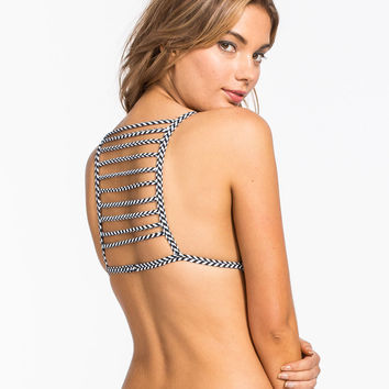 DAMSEL Ladder Back Bikini Top | Swimsuits