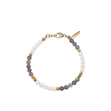 The Capri Collection - White Coral and Labradorite