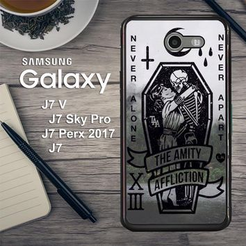 Amity Affliction Band L1344 Samsung Galaxy J7 V , J7 Sky Pro, J7 Perx 2017 SM J727 Case