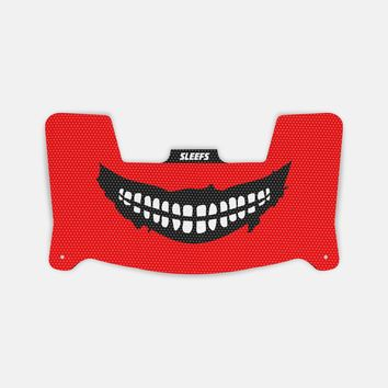 Smile Red Visor Skin